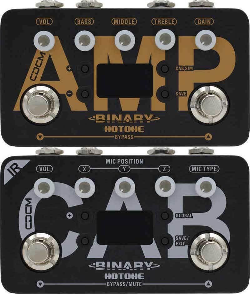 【送料無料】HOTONE BINARY AMP + BINARY IR CAB アンプ・シミュレーター + キャビネット・シミュレーター XTOMPのテクノロジーを継承【smtb-TK】