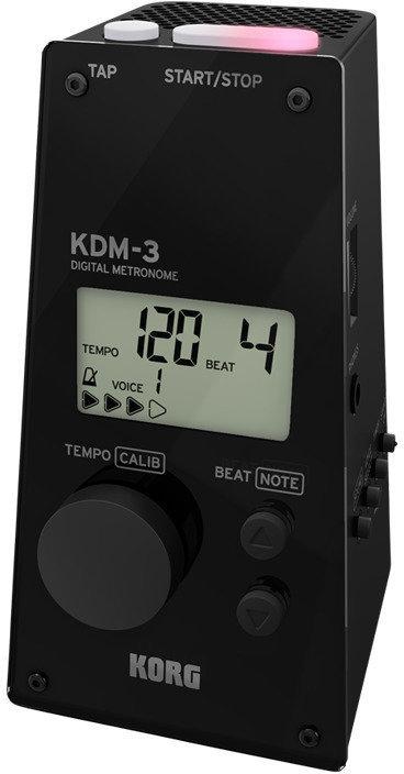 あす楽 KORG KDM3-BK コルグ デジタル smtb-TK メトロノーム メーカー公式 即日出荷 送料無料 BLACK KDM-3