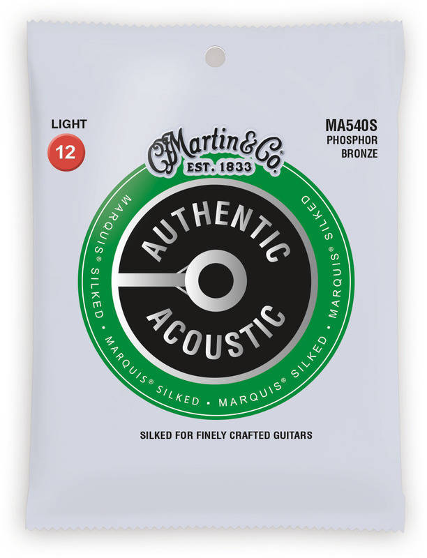 MARTIN MA540S×1 12-54 5☆好評 Authentic Acoustic Marquis 全国送料無料 Silked smtb-TK メール便発送 開店祝い 代金引換不可 Light