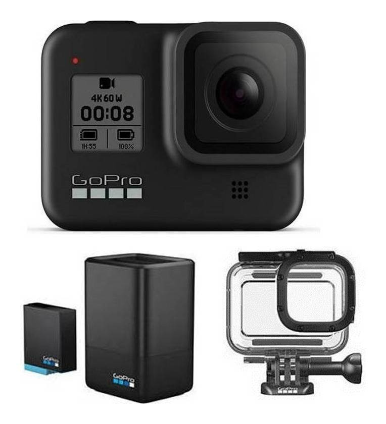 GoPro CHDHX-801-FW/充電器セット+ダイブハウジング付 HERO8 BLACK ウェアラブル・カメラ/国内正規品【送料無料】【smtb-TK】