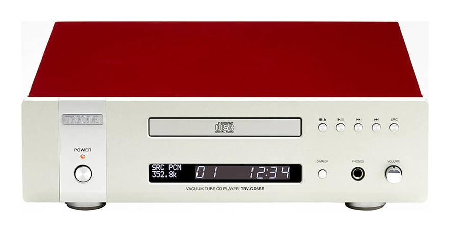 TRIODE TRV-CD6SE 真空管バッファ回路搭載 MQA-CD対応 CDプレーヤー【送料無料】【smtb-TK】
