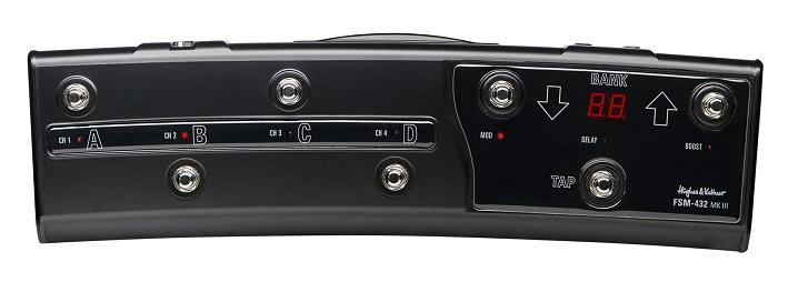 【送料無料】ヒュース&ケトナー Hughes&Kettner FSM432 MKIII MIDI BOARD フットボード (HUK-FSM432/3)【smtb-TK】