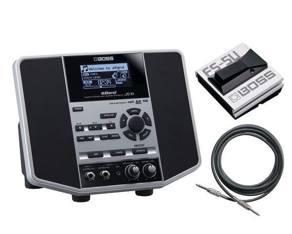 【送料無料】ボス BOSS eBand JS-10(フットスイッチ/FS-5U++ケーブル付) ギタリストのためのオーディオ・プレーヤー【smtb-TK】