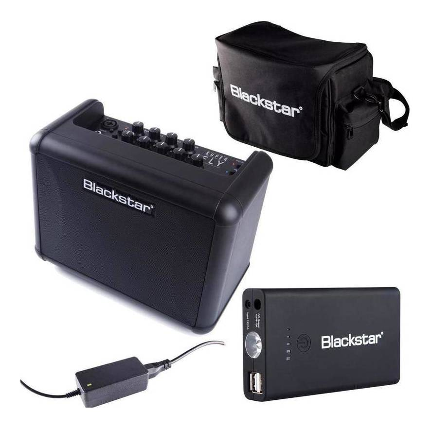 Blackstar SUPER FLY PACK Bluetooth搭載 マイク + ギター 入力装備 電池駆動可能 コンパクト・アンプ・セット【送料無料】【smtb-TK】