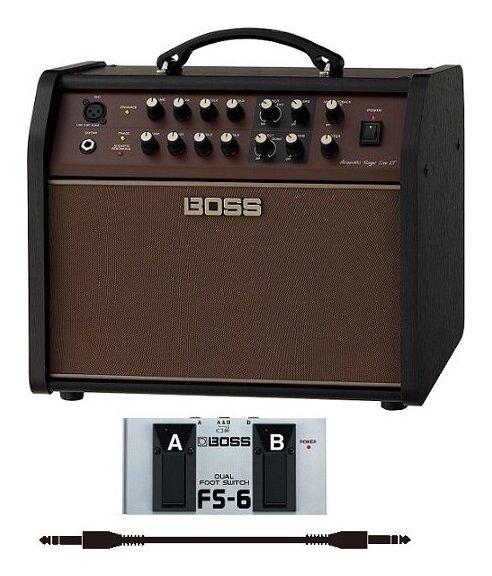 BOSS ACS-LIVELT フットスイッチ FS-6+audio-technica製接続ケーブル付 アコースティック ステージ アンプ Acoustic Singer Live LT smtb-TK 送料無料 割引 セール価格