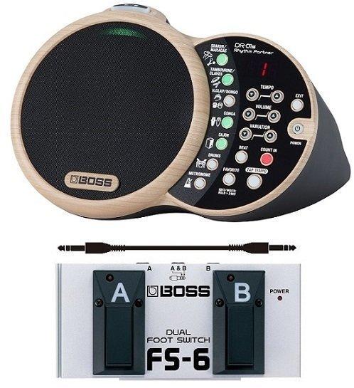 【送料無料】ボス BOSS DR-01S(フットスイッチ/FS-6+audio-technica製接続ケーブル付) Rhythm Partner リズム・パートナー【smtb-TK】