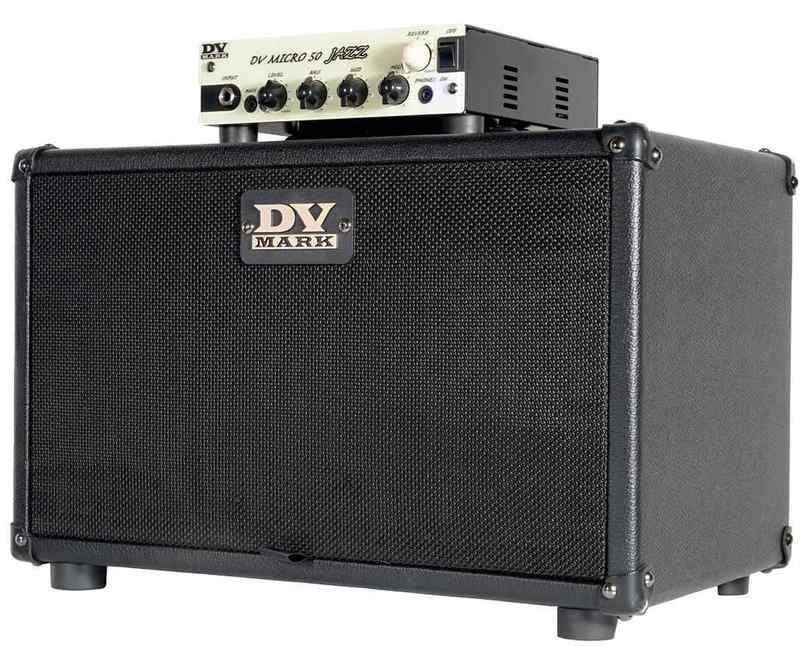 【送料無料】DV MARK DV MICRO 50 JAZZ & DV JAZZ 208 CABINET SET(DVM-JAZZ/STACK) ギターアンプヘッド+キャビネットセット【smtb-TK】