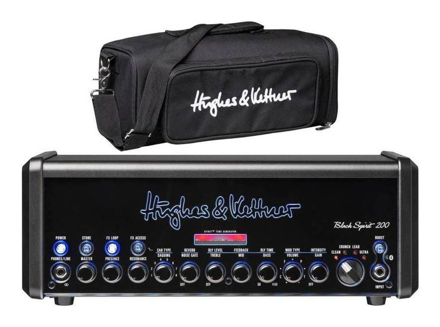 Hughes & Kettner Black Spirit 200 + HUK-BS200/BAG (HUK-BS200/H) 【送料無料】ヒュース&ケトナー ギターアンプヘッド/専用バッグ付【smtb-TK】
