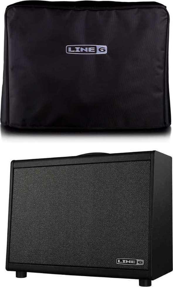 【送料無料】LINE6 Powercab 112 + 純正アンプカバー アクティブ・ギタースピーカー・システム【smtb-TK】