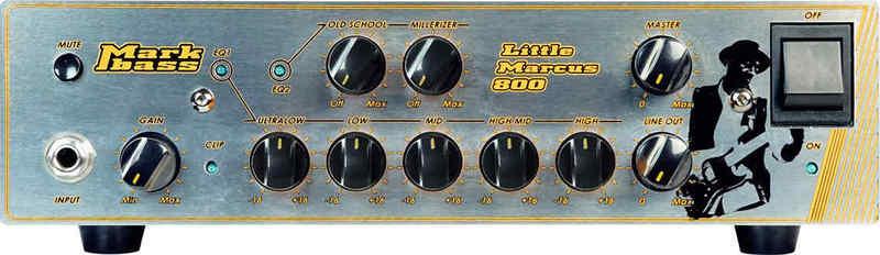【送料無料】Markbass LITTLE MARCUS800(MAK-LMM800) Marcus Miller マーカス・ミラー シグネチャー ベース・アンプ・ヘッド【smtb-TK】