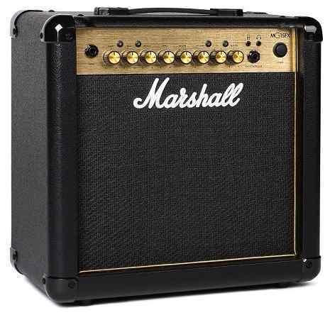 【特典付】【限定Marshallピック2枚付】【送料無料】マーシャル Marshall MG15FX Gold 15Wのコンパクトアンプ【正規輸入品】【smtb-TK】