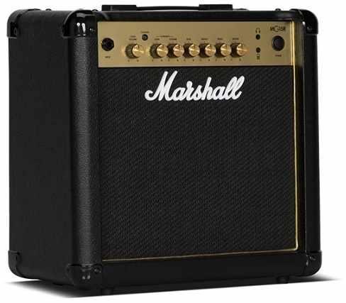 【限定Marshallピック2枚付】【送料無料】マーシャル Marshall MG15R Gold 15Wのコンパクトアンプ【正規輸入品】【smtb-TK】