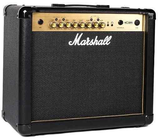 【限定Marshallピック2枚付】【送料無料】マーシャル Marshall MG30FX Gold 30Wの迫力のサウンド【正規輸入品】【smtb-TK】