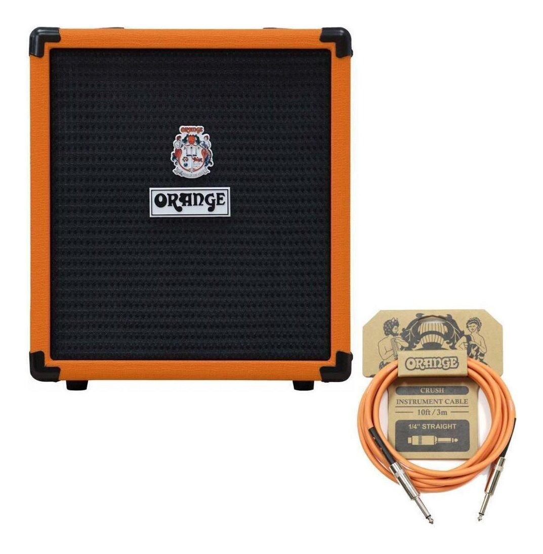 ORANGE 18%OFF Crush Bass セール 25B 純正ケーブル smtb-TK 25W ベースアンプ CA034付 送料無料