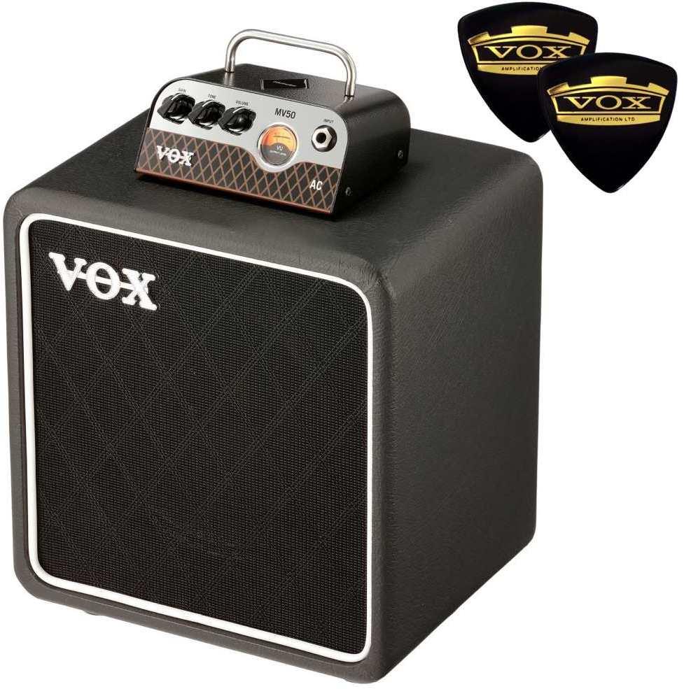 【限定VOXピック2枚付】【送料無料】VOX MV50-AC / AC-30 + BC108 新真空管 Nutube 搭載 アンプ・ヘッド + キャビネット【smtb-TK】