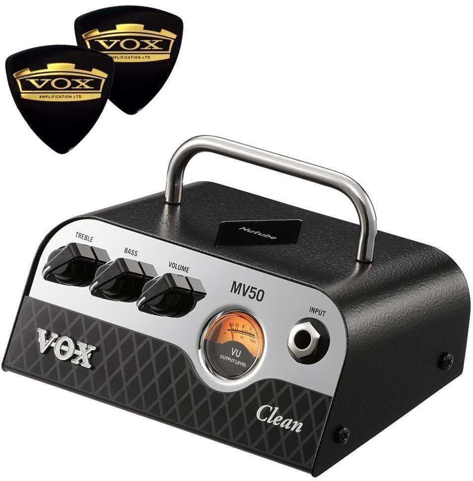 【限定VOXピック2枚付】【送料無料】VOX MV50-CL / Clean 新真空管 Nutube 搭載 アンプ・ヘッド【smtb-TK】