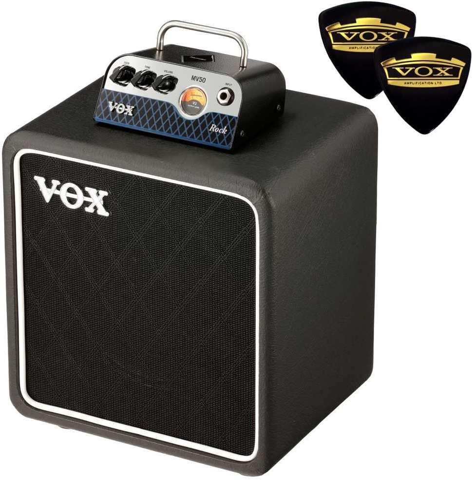 【限定VOXピック2枚付】【送料無料】VOX MV50-CR / Rock + BC108 新真空管 Nutube 搭載 アンプ・ヘッド + キャビネット【smtb-TK】