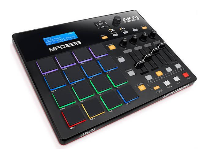 あす楽 AKAI Professional MPD226 USB お洒落 送料無料 MIDIパッドコントローラー smtb-TK 即納送料無料 -