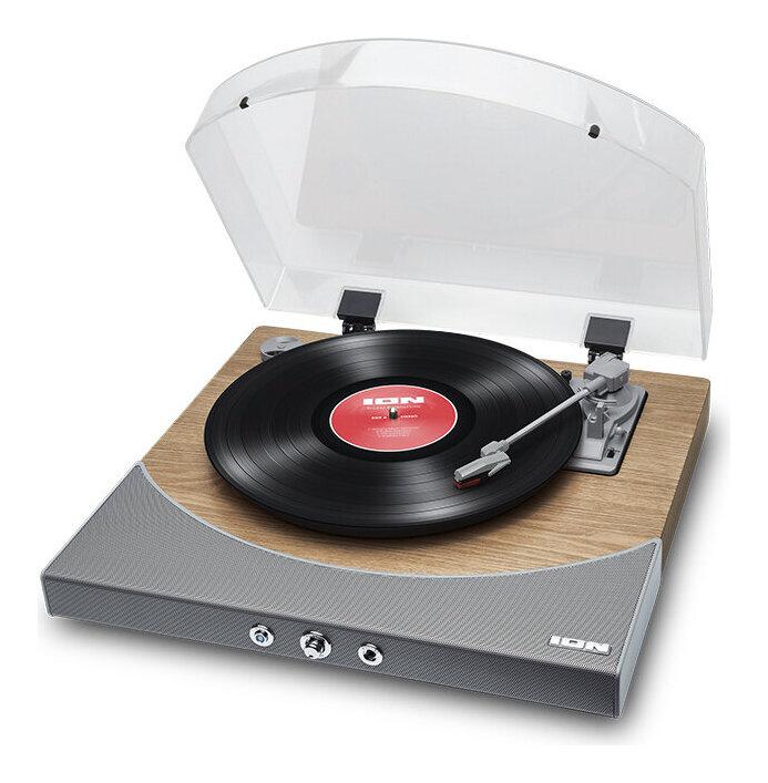 ION AUDIO Premier LP NAT Natural スピーカー内蔵 レコードプレーヤー Bluetooth対応 ターンテーブル smtb-TK 送料無料 海外輸入 オールインワン 卓抜