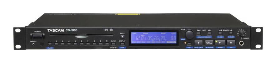 TASCAM CD-500 業務用CDプレーヤー【送料無料】【smtb-TK】