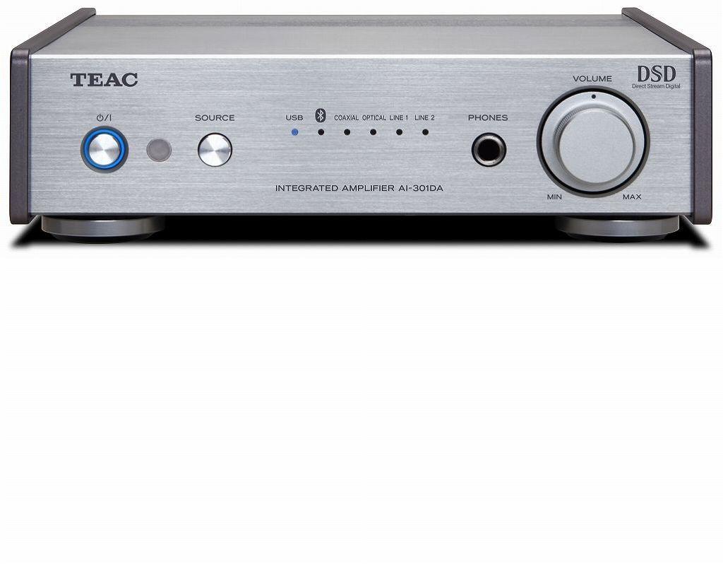 【送料無料】ティアック TEAC DAC/ステレオプリメインアンプ AI-301DA-SP/S バナナプラグ同梱スペシャルパッケージ【smtb-TK】 USB