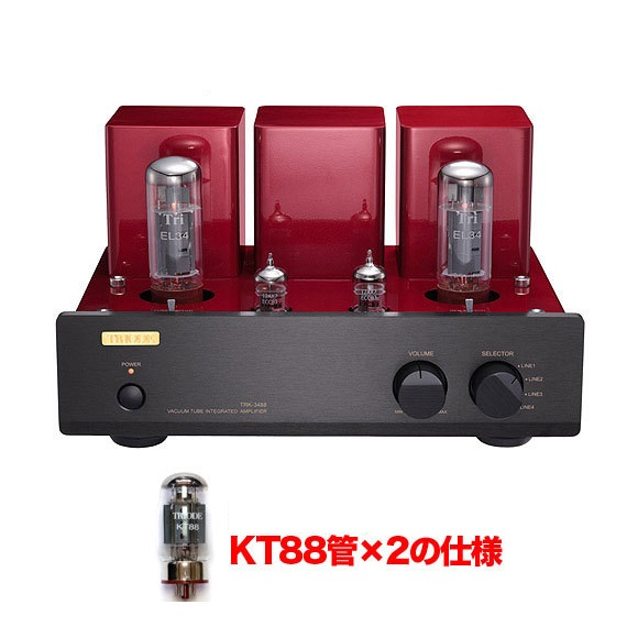 【送料無料】トライオード TRIODE TRK-3488(KT88仕様) プリメインアンプ 組立キット(工具/はんだ付け必須)【smtb-TK】