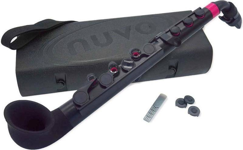 【送料無料】NUVO N520JBPK jSax 2.0 Black / Pink ブラック / ピンク プラスチック製 サックス【smtb-TK】