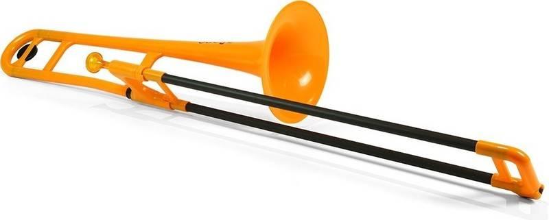 pinstruments PBONE1O pBone Orange プラスチック製 送料無料 日本正規代理店品 爆安プライス B♭テナートロンボーン smtb-TK