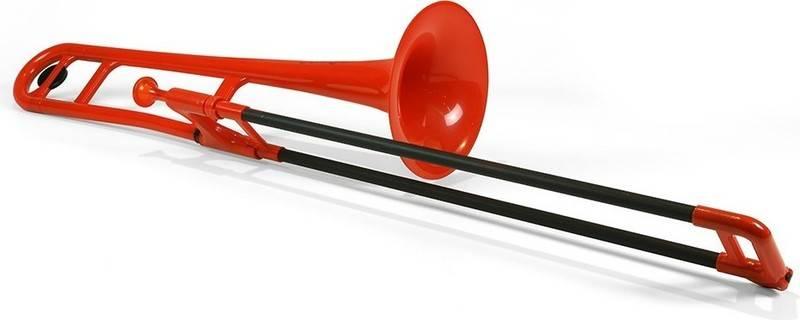 pinstruments PBONE1R pBone ◆セール特価品◆ Red プラスチック製 B♭テナートロンボーン smtb-TK 送料無料 奉呈