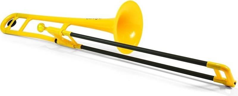 【送料無料】pinstruments PBONE1Y pBone/Yellow プラスチック製 B♭テナートロンボーン【smtb-TK】