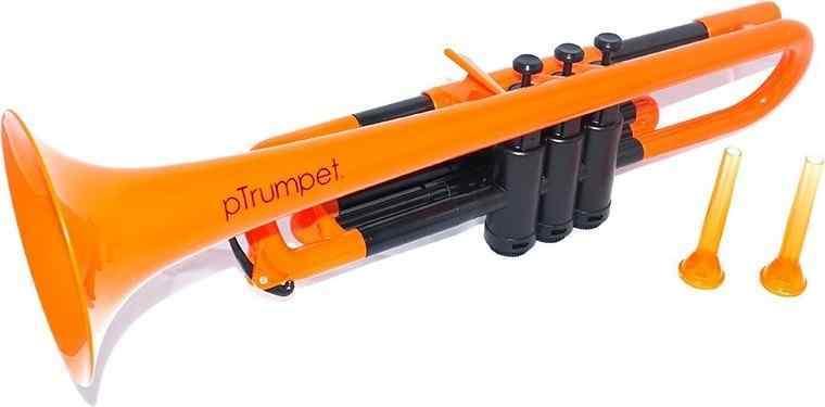 【送料無料】pinstruments PTRUMPET1OR pTrumpet/Orange プラスチック製 B♭トランペット【smtb-TK】