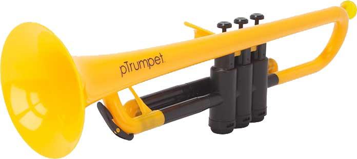【送料無料】pinstruments PTRUMPET1Y pTrumpet/Yellow プラスチック製 B♭トランペット【smtb-TK】