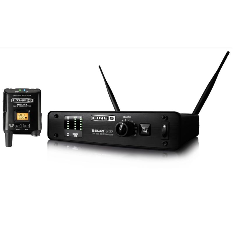 【特典付】【送料無料】ラインシックス LINE6 RELAY G55 ギター/ベース用デジタル・ワイヤレス・システム【smtb-TK】