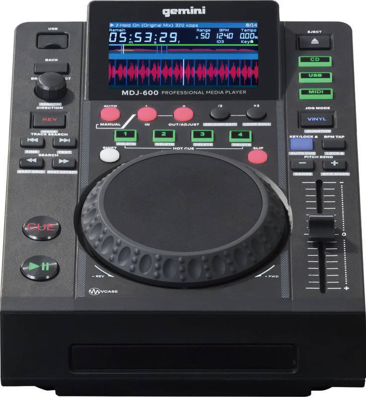 【送料無料】ジェミナイ gemini MDJ-600 CD / USB メディアプレーヤー【smtb-TK】