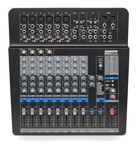 SAMSON MixPad MXP144FX 14インプット アナログ ステレオ ミキサー【送料無料】【smtb-TK】