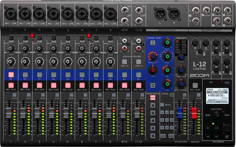 【送料無料】ズーム ZOOM LiveTrak L-12 ライブ演奏のミックスとレコーディングに【smtb-TK】