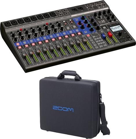 ズーム ZOOM LiveTrak 人気ブランド L-12 純正キャリングバッグ ライブ演奏のミックスとレコーディングに smtb-TK 迅速な対応で商品をお届け致します CBL-20付 送料無料