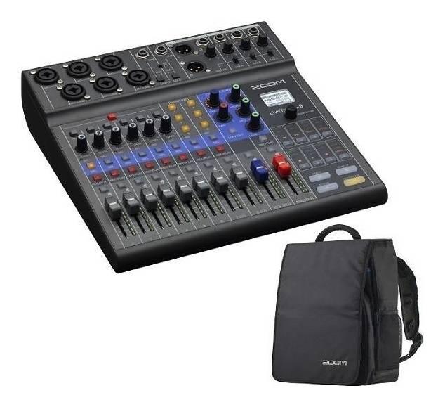 情熱セール ZOOM LiveTrak L-8 ショッピング バックパック CBA-96付 ポッドキャストに smtb-TK レコーダー ミュージックにライブミキサー 送料無料