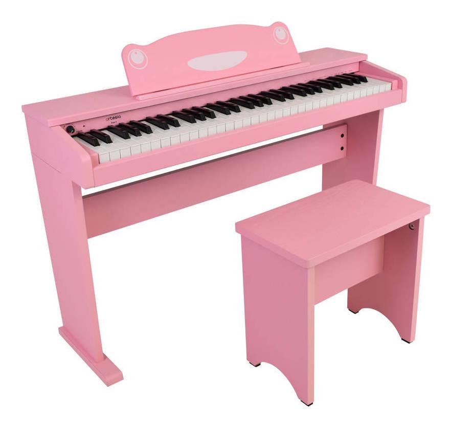 artesia FUN-1 PK(ピンク) オールインワン 61鍵盤 キッズピアノ デジタルピアノ【送料無料】【smtb-TK】