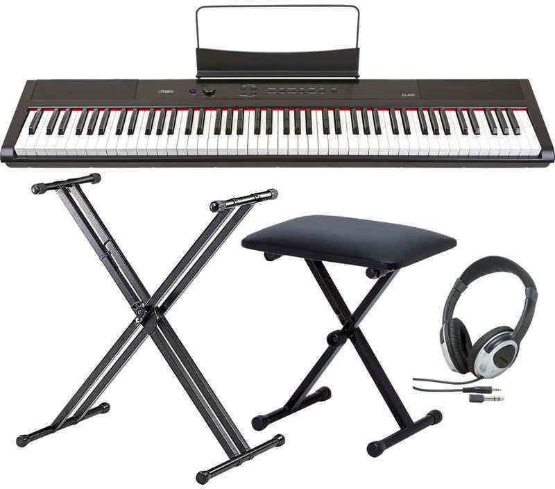 【送料無料】artesia PA-88H/スタンド+ヘッドホン+イス付 電子ピアノ ハンマー・アクション鍵盤 デジタルピアノ【smtb-TK】