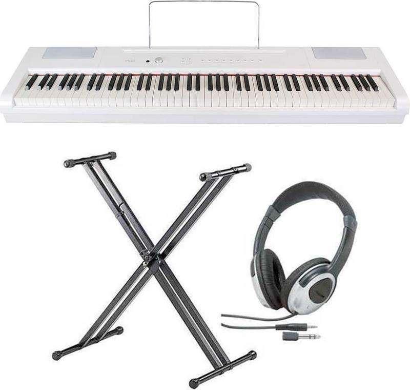 【送料無料】artesia PA-88H/WH(白)/スタンド+ヘッドホン付 電子ピアノ ハンマー・アクション鍵盤 デジタルピアノ【smtb-TK】