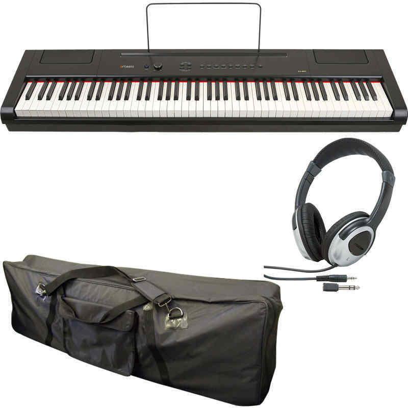 【送料無料】artesia PA-88W/ケース+ヘッドホン付 電子ピアノ セミ・ウエイト鍵盤 デジタルピアノ【smtb-TK】