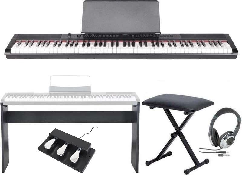 【送料無料】artesia PE-88/専用スタンド+ヘッドホン+イス+3本ペダル付 ステージ ステージ・ピアノ・ピアノ セミ・ウエイト鍵盤 デジタルピアノ【smtb-TK】, QTfanfan:84fdb5a9 --- garagemastertech.ca