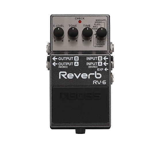 【送料無料】ボス BOSS RV-6 Reverb クラスを越えた高音質リバーブ・ペダル【smtb-TK】