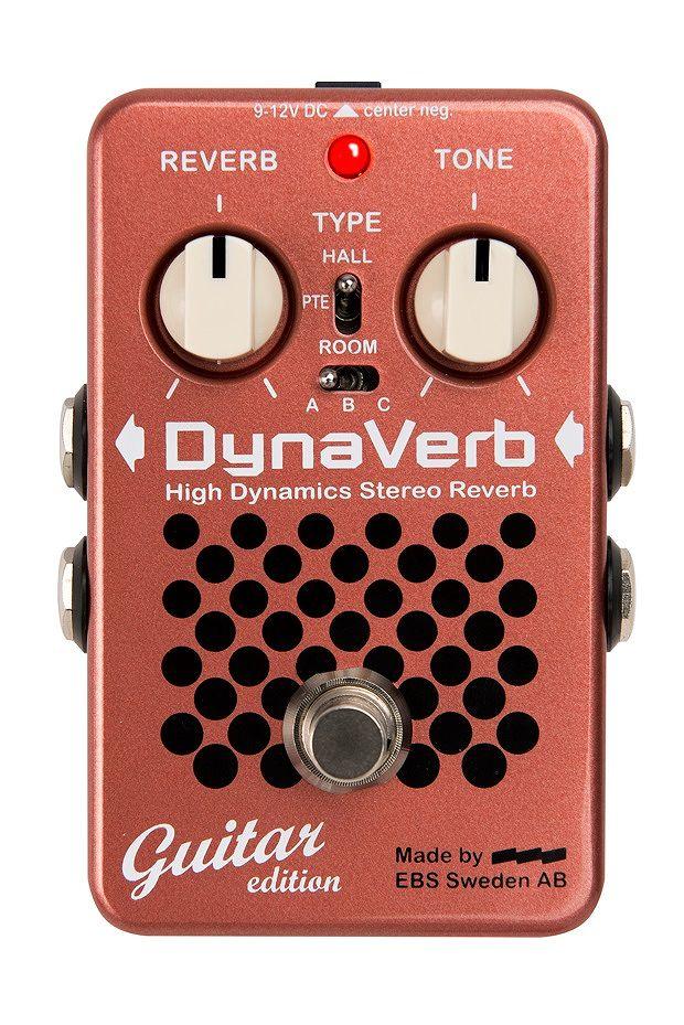 【送料無料】EBS DynaVerb Guitar ギター用 リバーブ【smtb-TK】