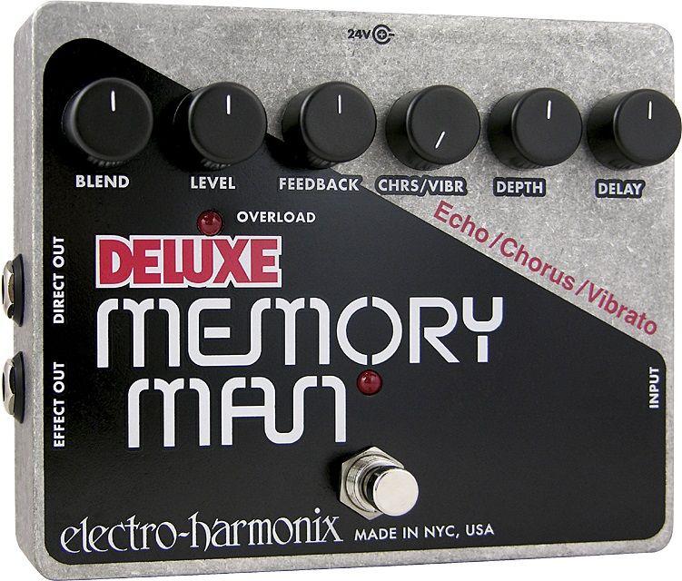 【送料無料】ELECTRO HARMONIX Deluxe Memory Man コーラス/ビブラート搭載 アナログ・ディレイ【国内正規品】【smtb-TK】