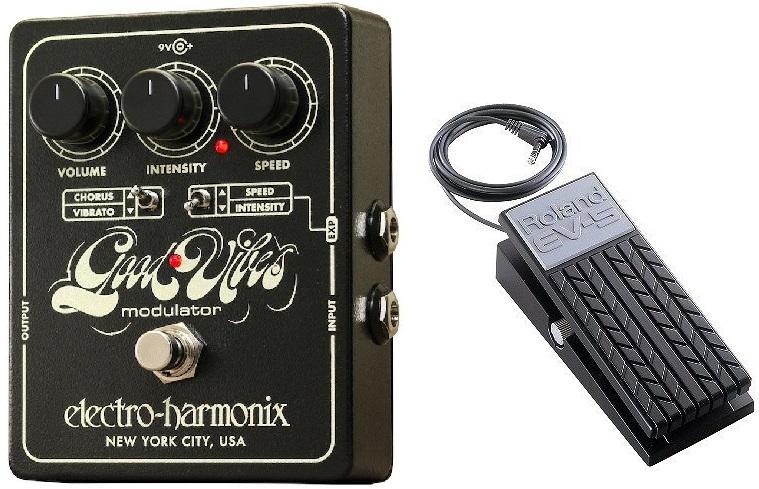 【送料無料】ELECTRO HARMONIX Good Vibes+Roland EV-5 Rolandエクスプレッションペダル コーラス/ビブラート UniVibeを再現【国内正規品】【smtb-TK】