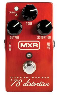 【国内正規品】MXR M78/M-78 Custom Badass '78 Distortion【安心の正規輸入品/メーカー保証付】