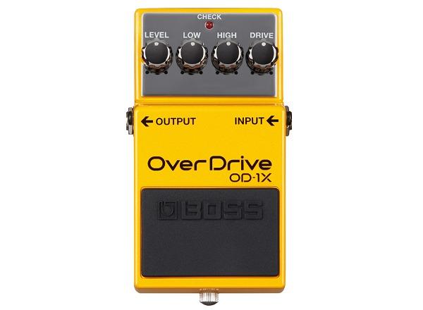 【送料無料】ボス BOSS OD-1X/Overdrive 最先端のオーバードライブ【smtb-TK】