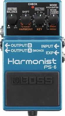 """【送料無料】ボス BOSS PS-6/Harmonist/ピッチ・シフター 定番ピッチ・シフターが3声ハーモニーに強化。高音質化も実現し、""""ハーモニスト""""として登場【smtb-TK】"""